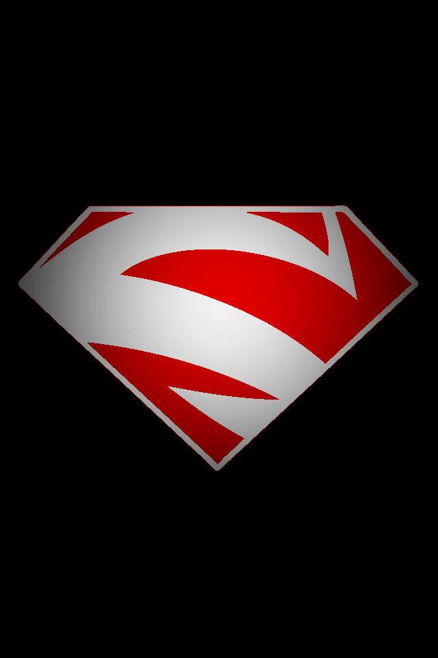 Superman red logo by kalel7 on deviantart superman red logo by kalel7 voltagebd Choice Image
