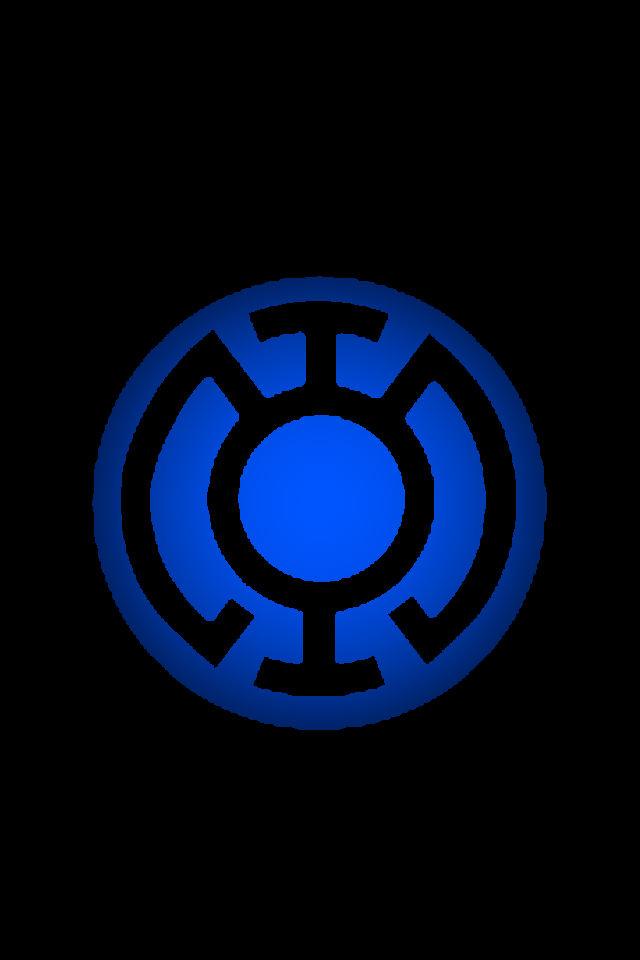 Blue Lantern Logo Background 2 by KalEl7 on DeviantArt