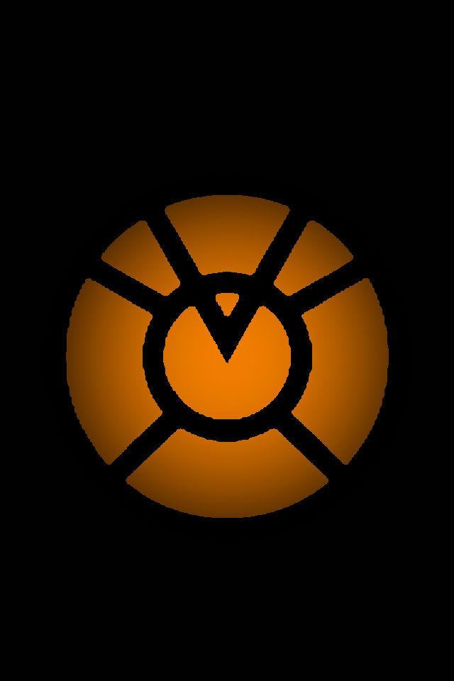 Orange Lantern Logo Background 2