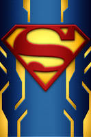Superman Power Suit background idea by KalEl7