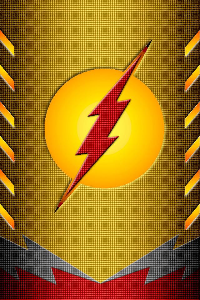 Kid Flash Power Suit Idea Background By KalEl7