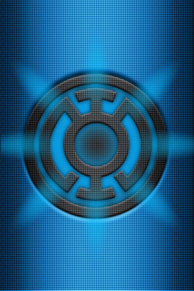 Blue lantern flash logo