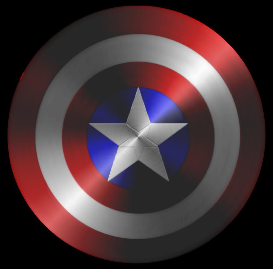 Shield captain america vector