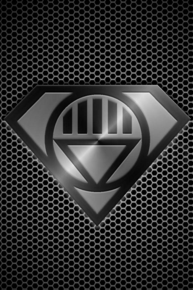 Metalic Black Lantern Superman by KalEl7 on DeviantArt  Black Lantern Superman Symbol