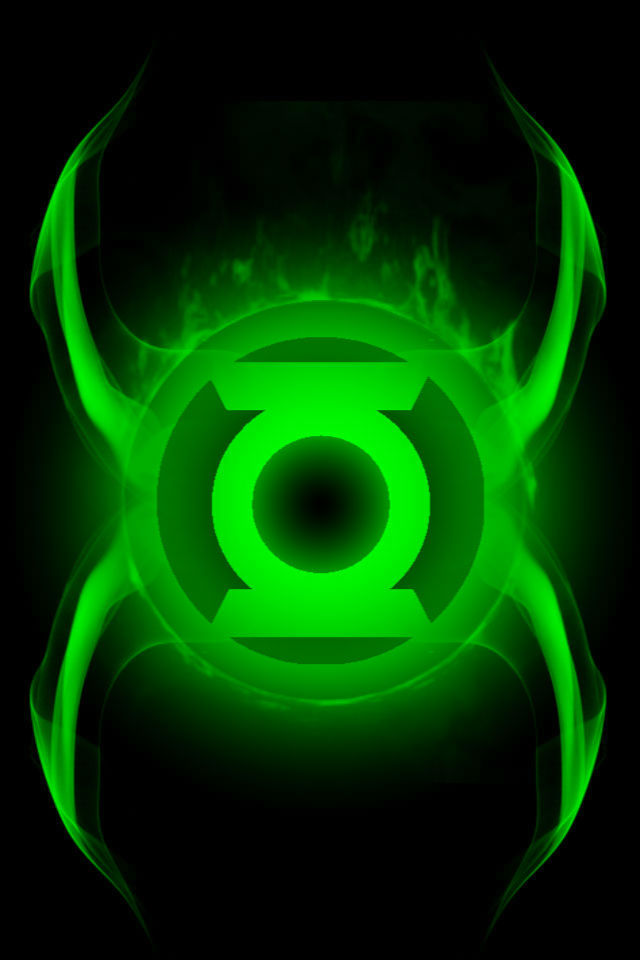 Firey Green Lantern Idea background by KalEl7