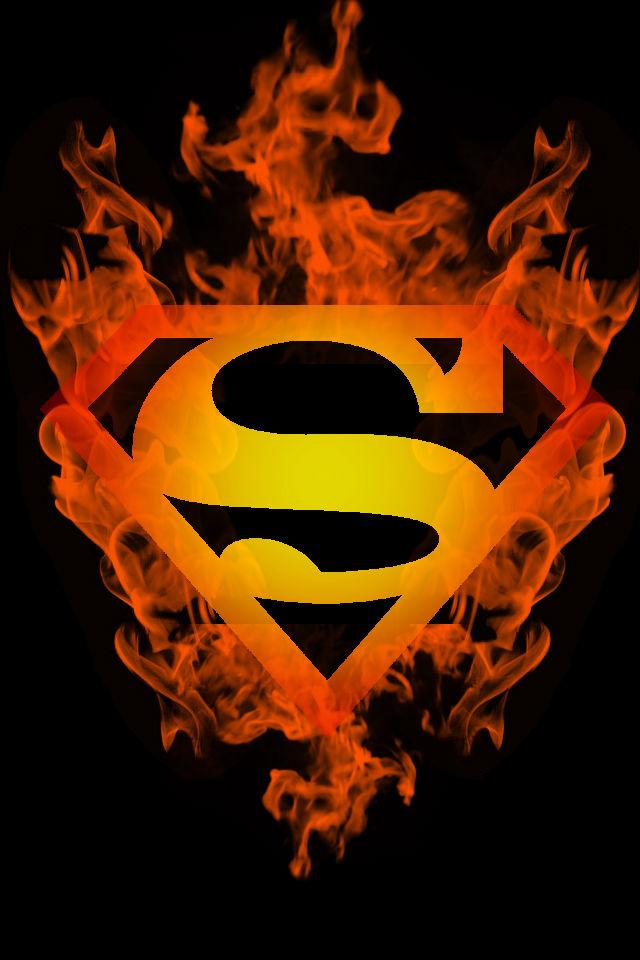 Firey New 52 Superboy background by KalEl7 on DeviantArt