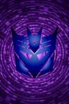 Swirling Decepticon Background