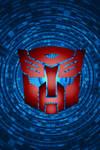 Swirling Autobot Background