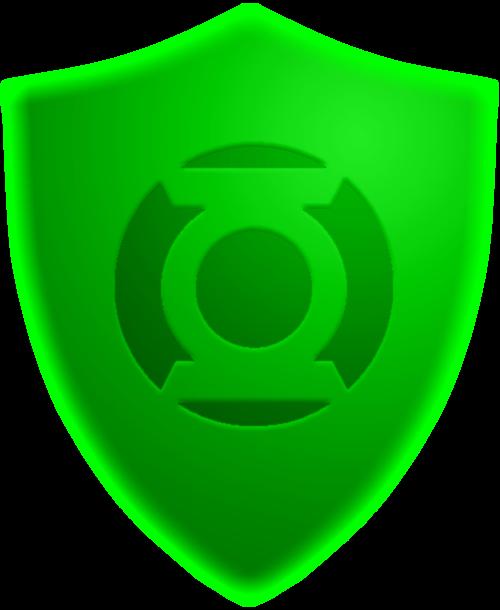 Green Lantern Shield Construct by KalEl7