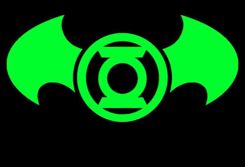 Green Lantern Batman Logo Idea By Kalel7 On Deviantart