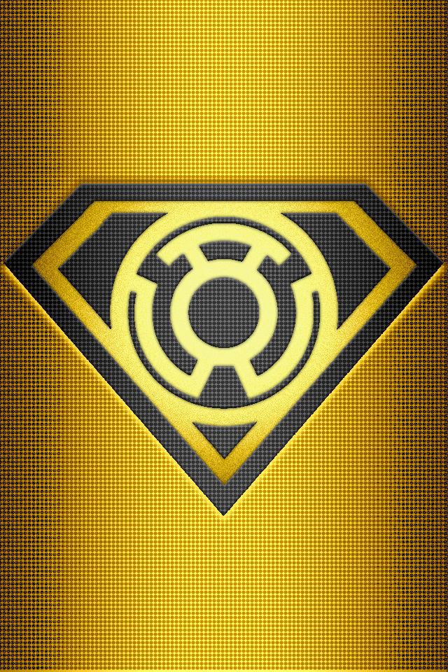 yellow lantern superman - 640×960