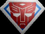 Brushed metal Super Autobot Shield