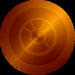 Orange Lantern Captain America Shield 2