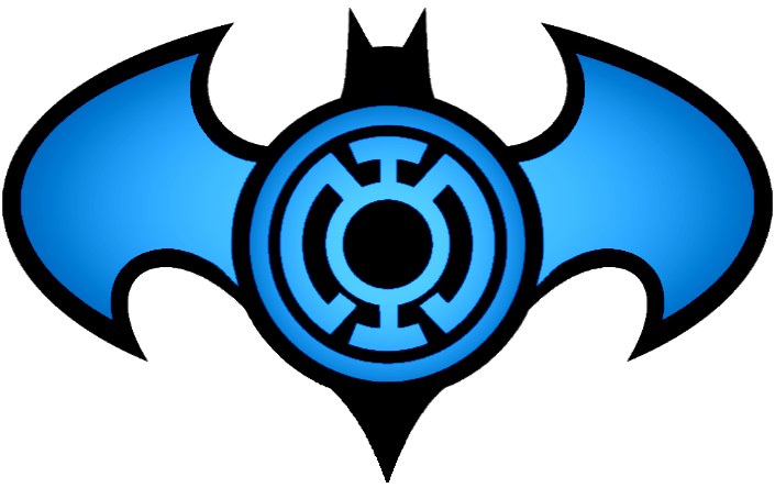 Batman Blue Lantern Logo By Kalel7 On Deviantart