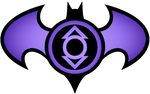 Batman Indigo Lantern Logo
