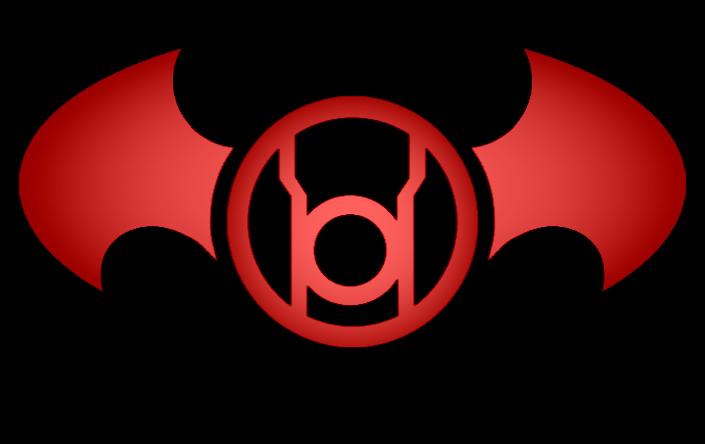 Batman Red Lantern Logo