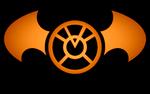 Batman Orange Lantern Logo