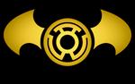 Batman Sinestro Lantern Logo