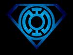 Superman Glowing Blue Lantern Shield