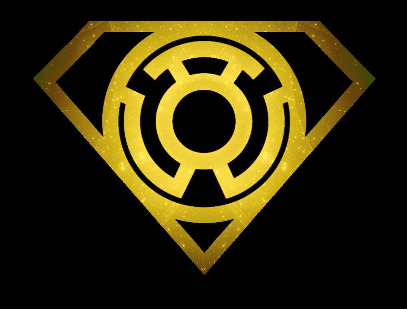 Superman Sinestro Lantern Shield by KalEl7 on DeviantArt  Black Lantern Superman Symbol