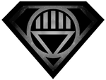 Superman Black Lantern Shield