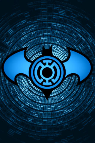 Swirling Blue Lantern Batman Background By Kalel7 On Deviantart