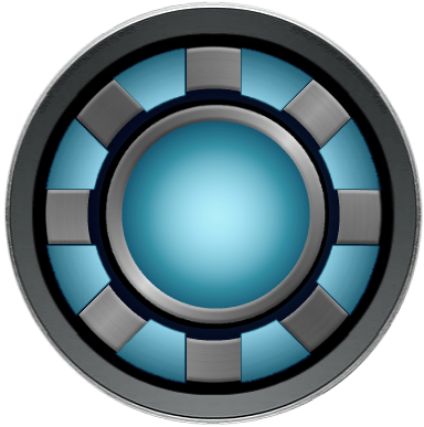 Iron man arc reactor by KalEl7