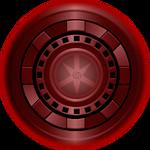 Maroon Lantern Iron Man Arc Reactor