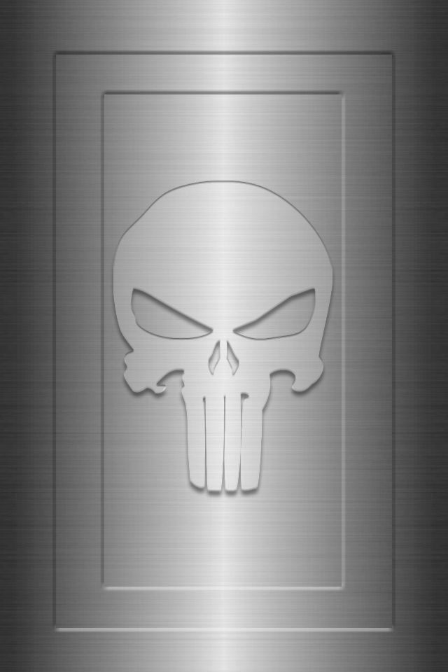 Metal Framed Punisher Background by KalEl7
