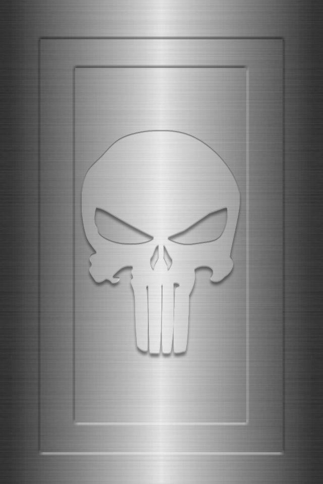 Metal Framed Punisher Background by KalEl7