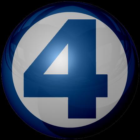 Fantastic four logo png fantastic 4 sphere by kalel7