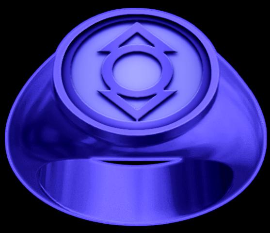 Indigo Lantern Ring By Kalel7 On Deviantart