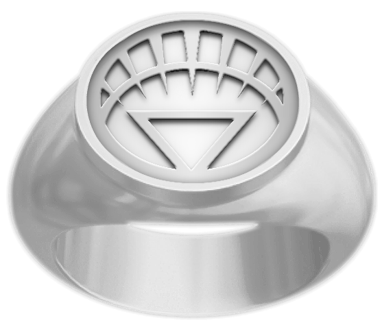 The White Lantern Rings first appeared at the end of the Blackest Night saga as the rings destroyed the Black Lantern Rings controlling the still living