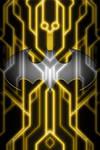 Batman Tron Suit background test 1