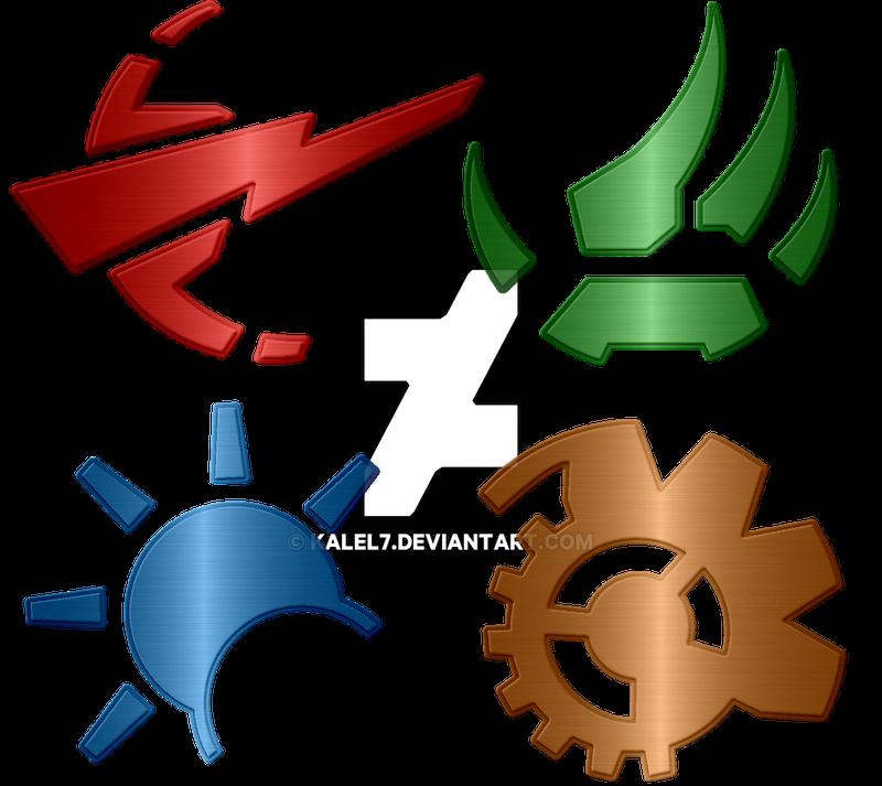 Transformers Cybertron Planet Key Logos By Kalel7 On