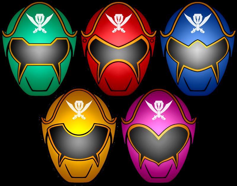 Power rangers super megaforce masks by kalel7 on deviantart - Masque de power rangers ...
