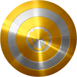 Yellow Wind Ranger Cap Shield test 1