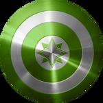 Green Wind Ranger Cap Shield test 1
