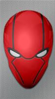 Red Hood Mask Wallpaper test 1