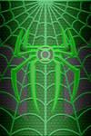 Green Lantern Spiderman Suit Wallpaper test 1