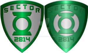 Green Lantern Badges