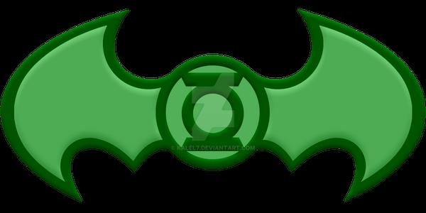 Beveled Green Lantern Batman by KalEl7