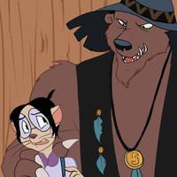 Sid and Injun Joe by VerdantBones