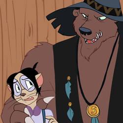 Sid and Injun Joe