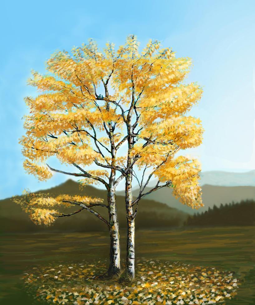 Fall colors by Ozimandus4321