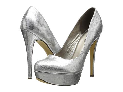 Plain Silver Heels