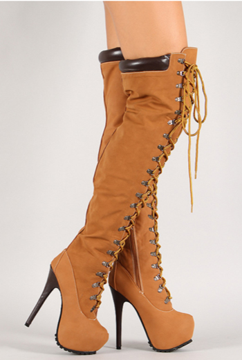 a3e8be0316ed Thigh High Timberland Style Boots by Shoes-Are-Life on DeviantArt
