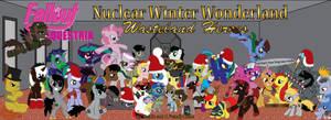 Nuclear Winter Wonderland Wasteland Heroes by geo-vaga