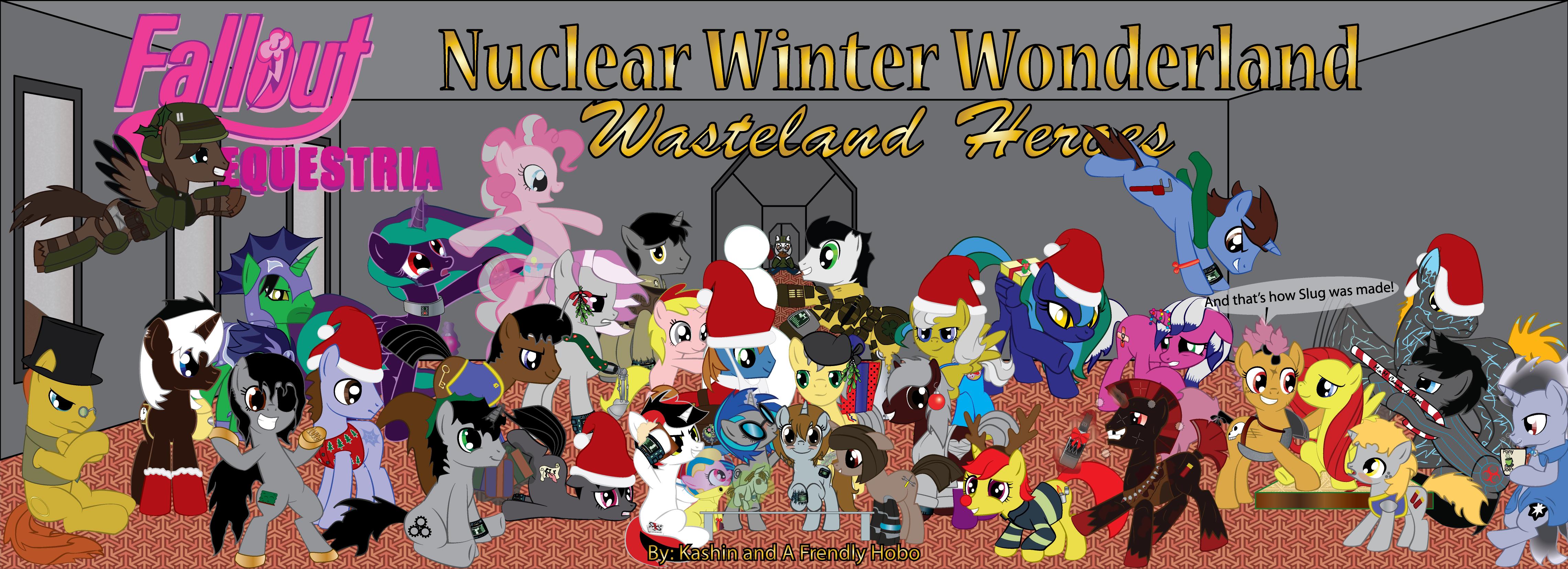 Nuclear Winter Wonderland Wasteland Heroes