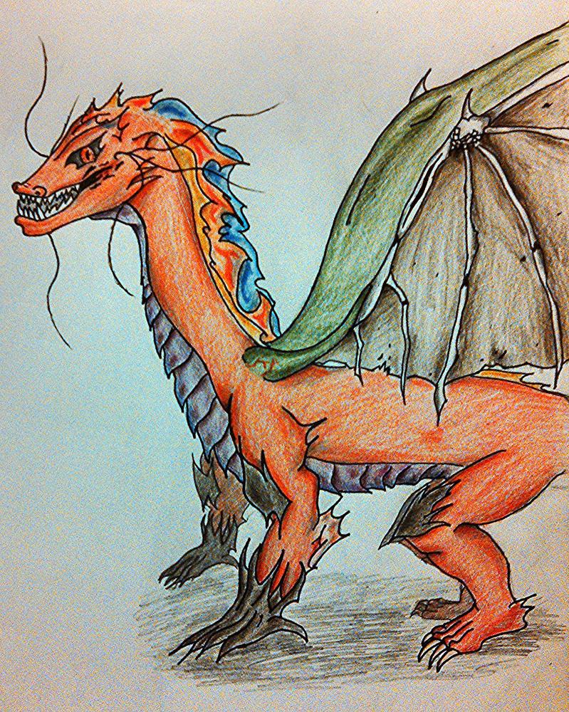 Crossbreed Dragon by Samtreat